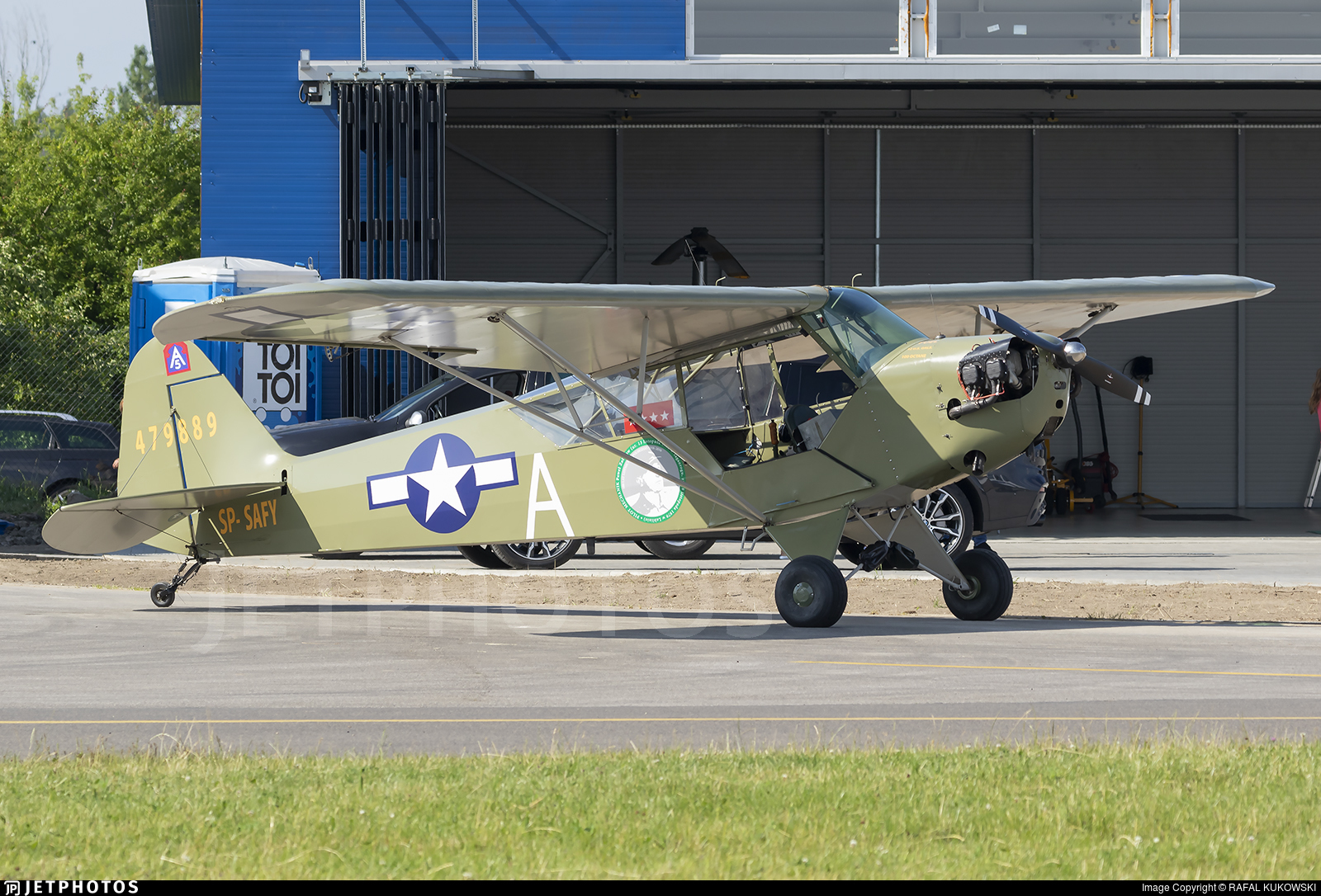 SP-SAFY - Piper J-3C-65 Cub - Private
