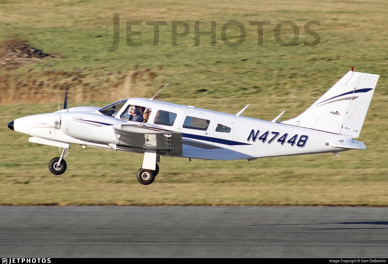 N47448 - Piper PA-34-200T Seneca II - Private