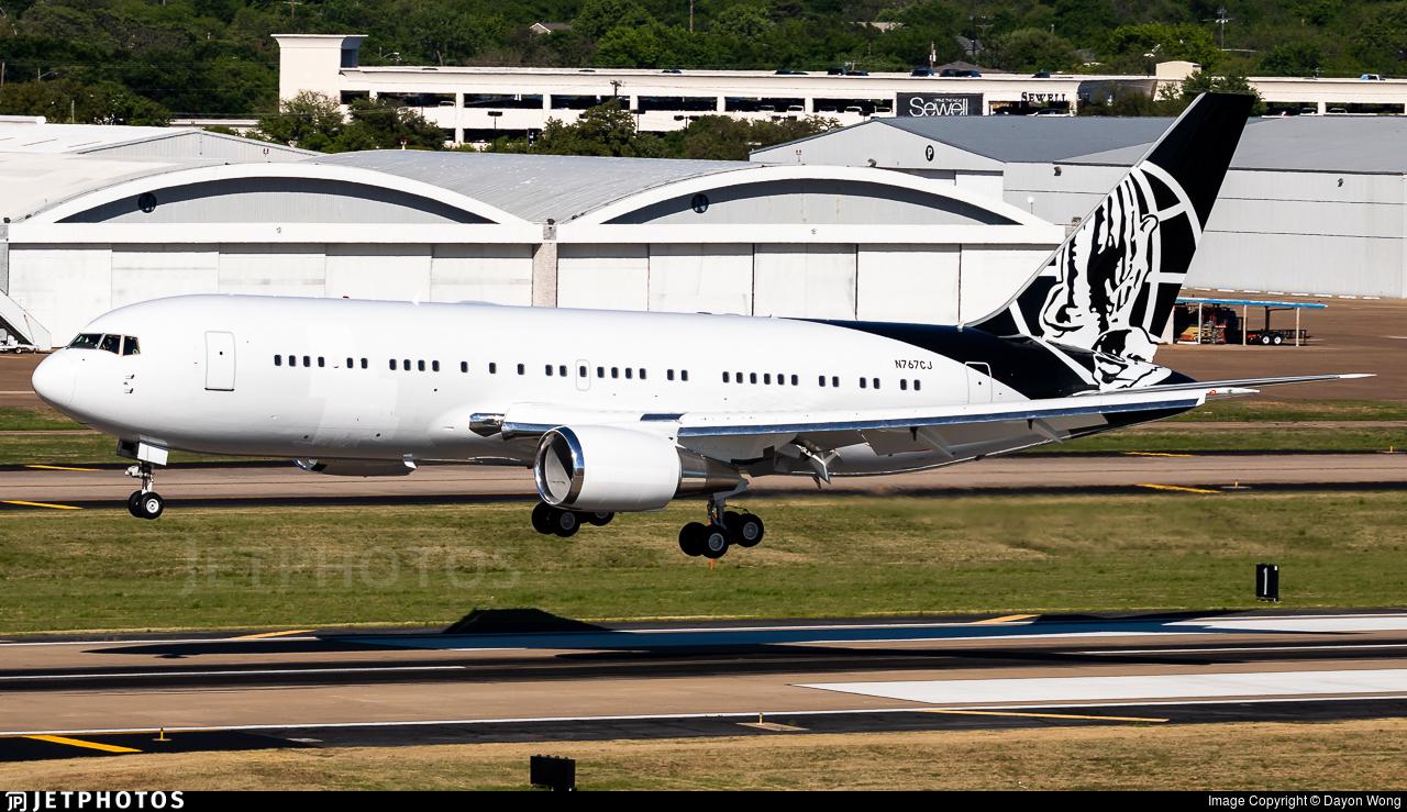 N767CJ - Boeing 767-24Q(ER) - Private