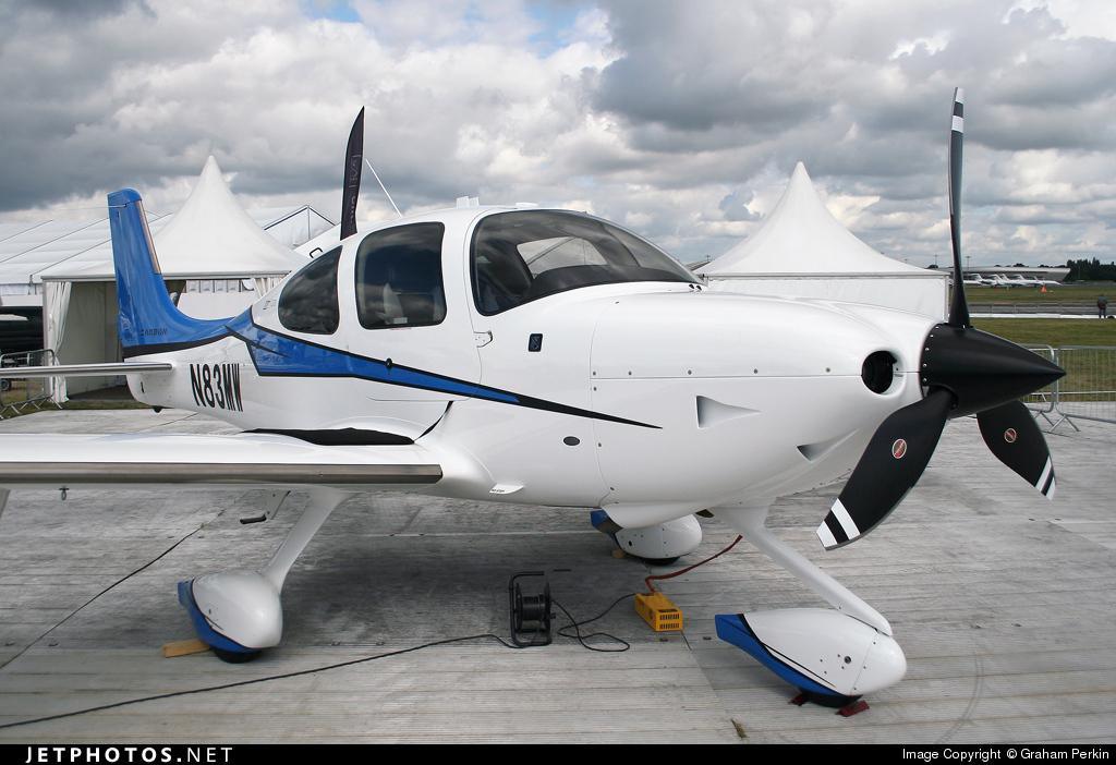 N83MW - Cirrus SR22T - Private