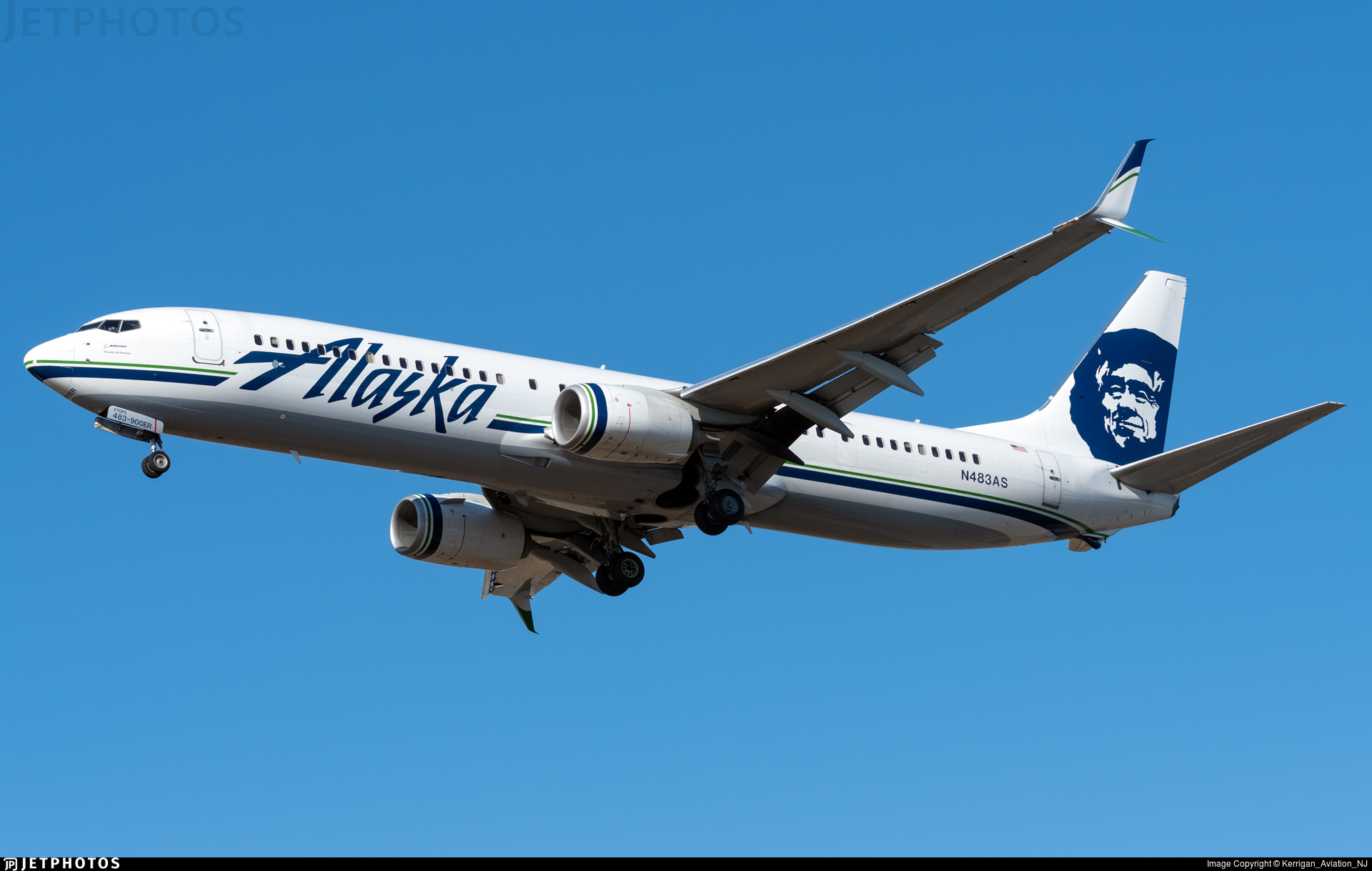 N483AS - Boeing 737-990ER - Alaska Airlines