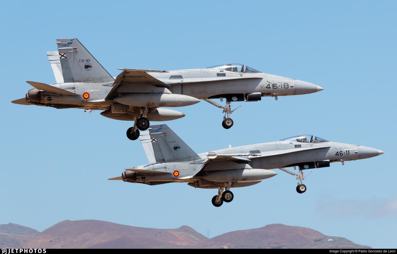 C.15-90 - McDonnell Douglas F/A-18A+ Hornet - Spain - Air Force