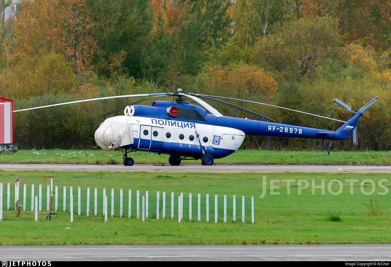 RF-28978 - Mil Mi-8T - Russia - Police