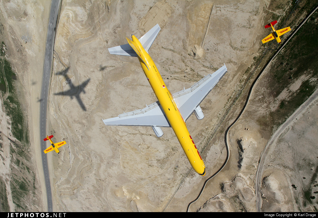 A9C-DHE - Boeing 757-225(SF) - DHL International Aviation