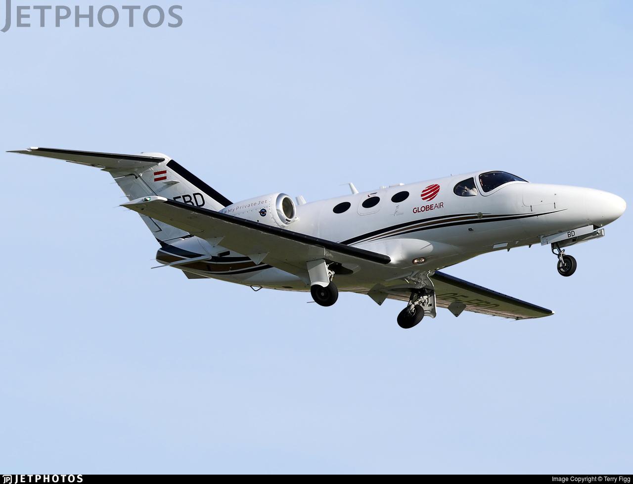 OE-FBD - Cessna 510 Citation Mustang - GlobeAir
