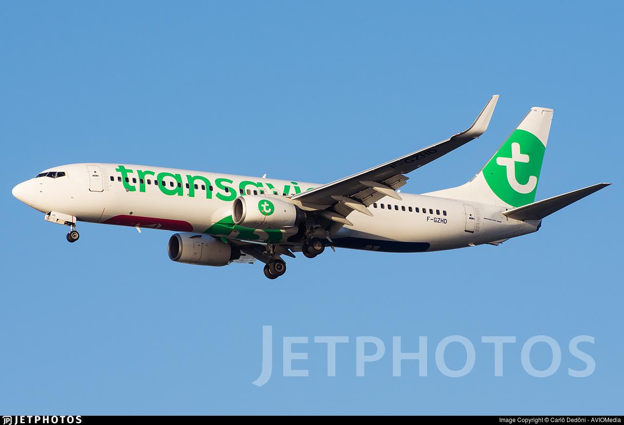 F-GZHD - Boeing 737-8K2 - Transavia France