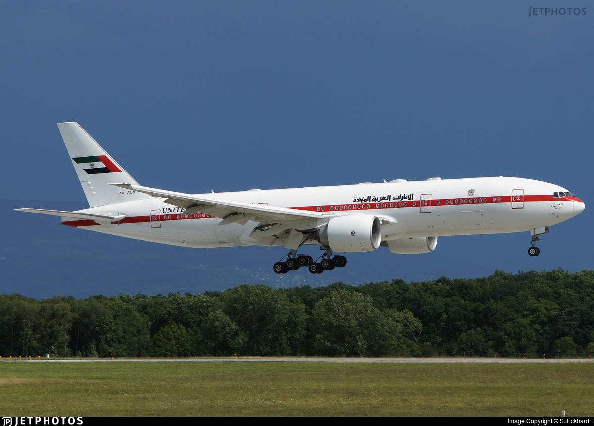 A6-ALN - Boeing 777-2AN(ER) - United Arab Emirates - Abu Dhabi Amiri Flight