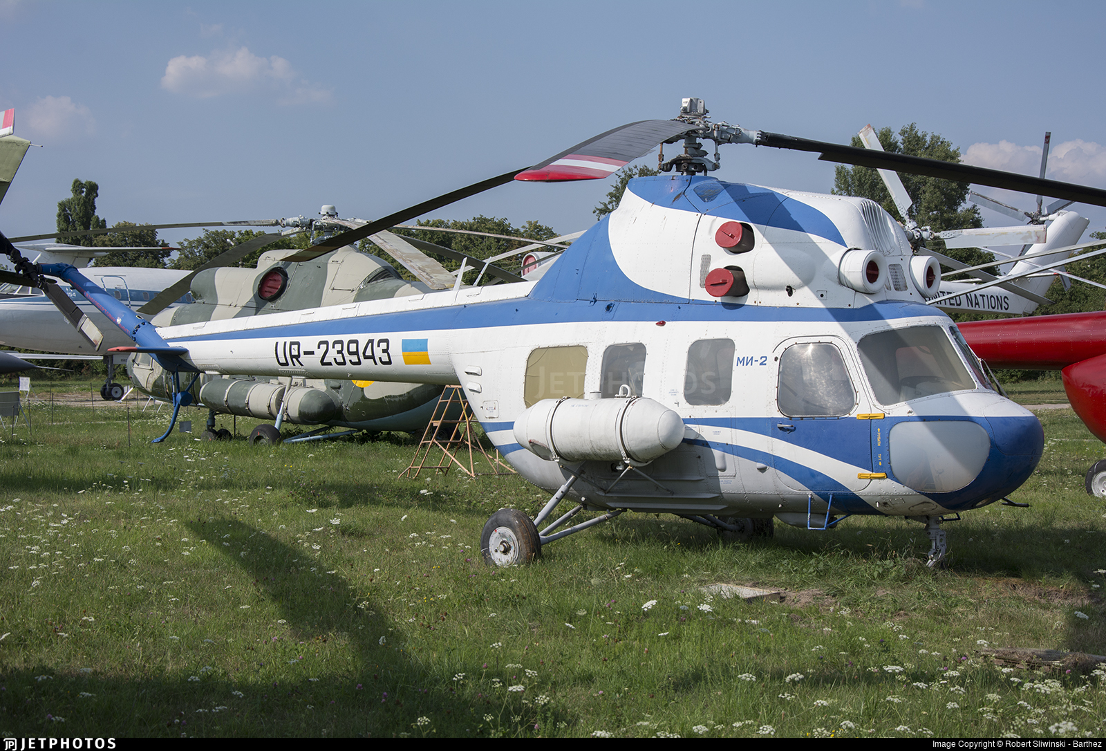 UR-23943 - PZL-Swidnik Mi-2 Hoplite - Ukrainian Aviation Museum