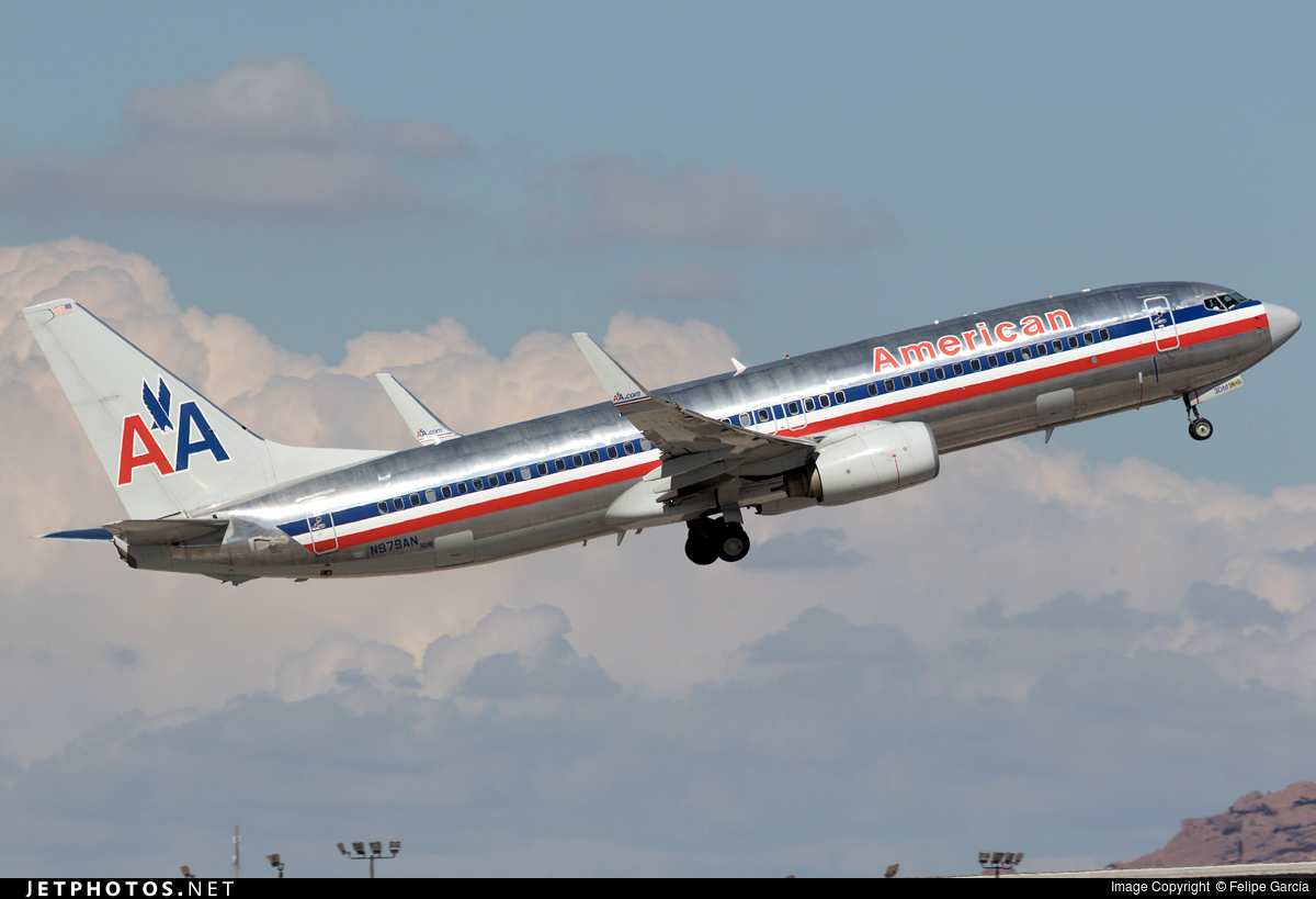 N979an Boeing 737 823 American Airlines Felipe