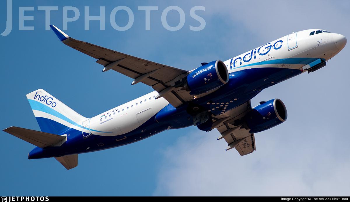 VT-ITJ - Airbus A320-271N - IndiGo Airlines