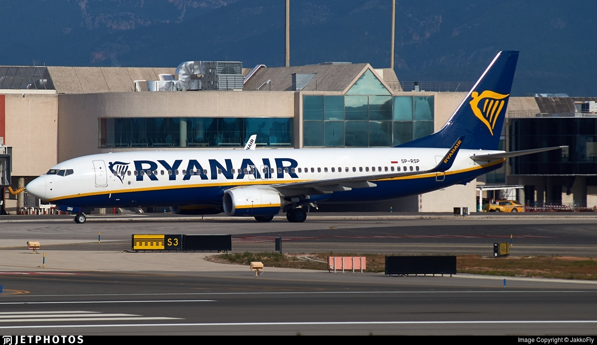 SP-RSP - Boeing 737-8AS - Ryanair Sun