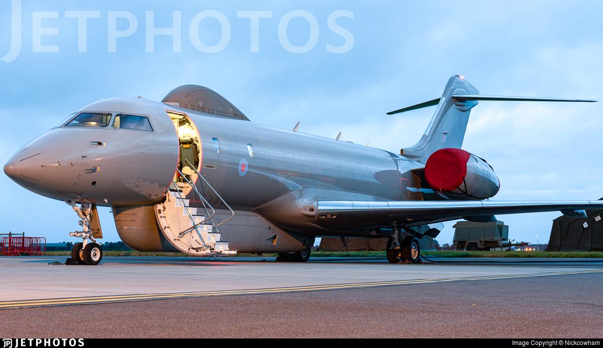 ZJ691 - Bombardier Sentinel R.1 - United Kingdom - Royal Air Force (RAF)