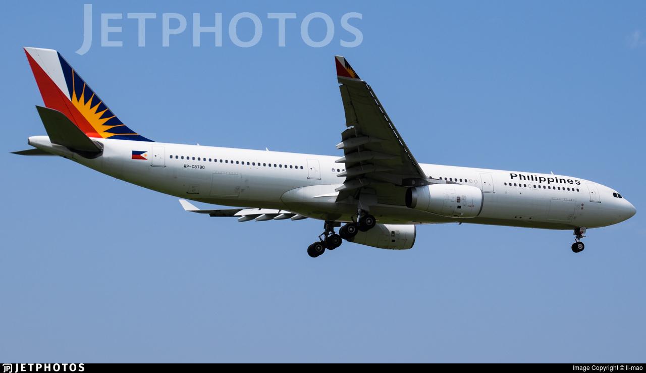 RP-C8780 - Airbus A330-343 - Philippine Airlines