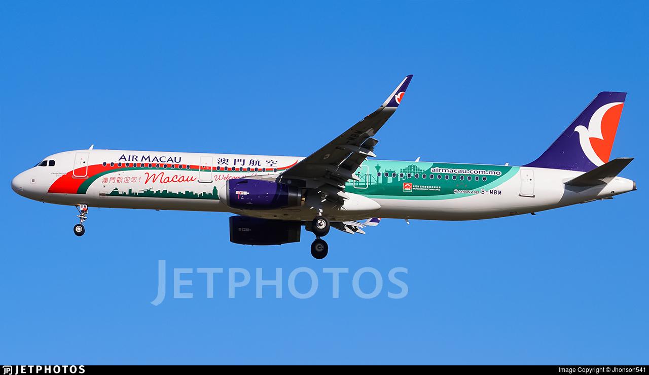 B-MBM - Airbus A321-231 - Air Macau