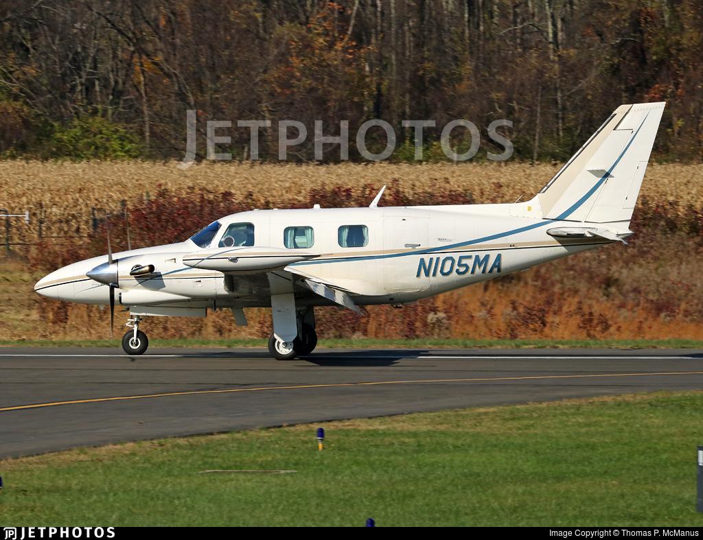 N105MA - Piper PA-31T1 Cheyenne I - Private