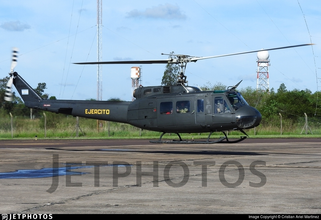 AE-466 - Bell UH-1H Huey II - Argentina - Army