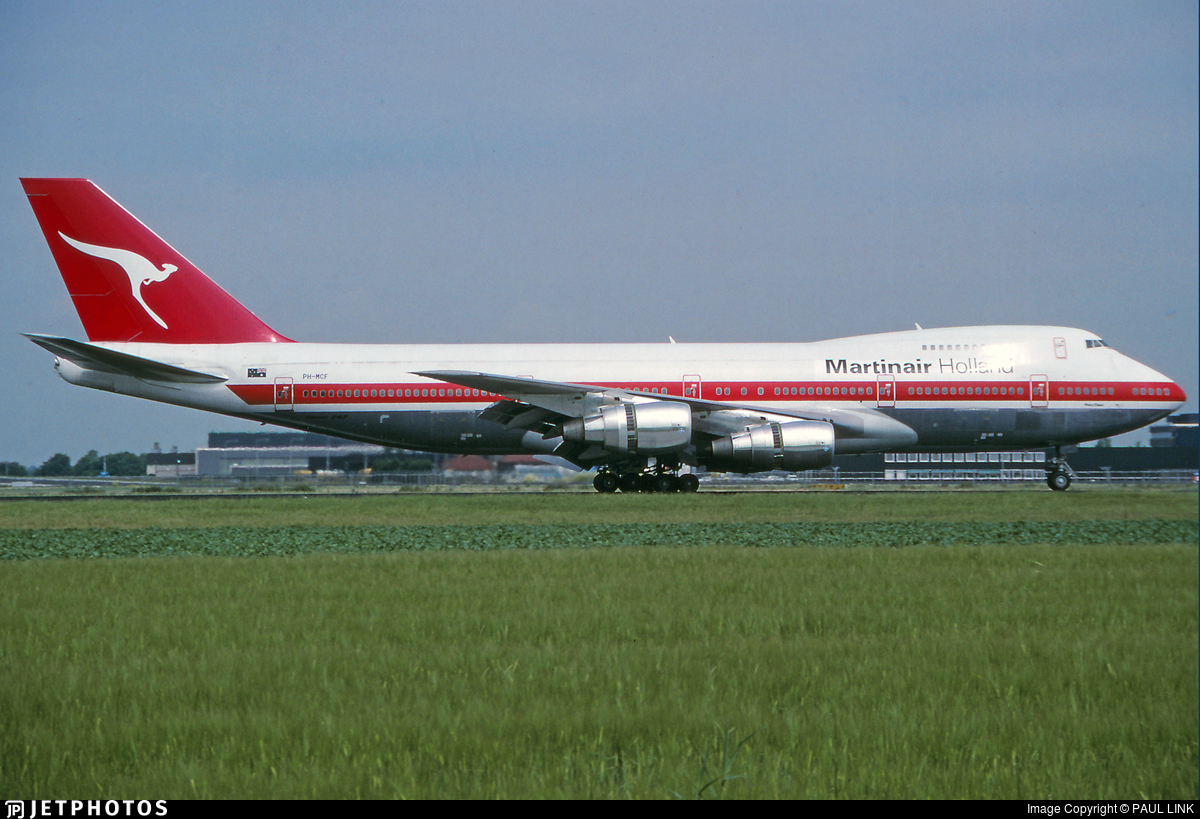 PH-MCF - Boeing 747-21AC(SCD) - Martinair
