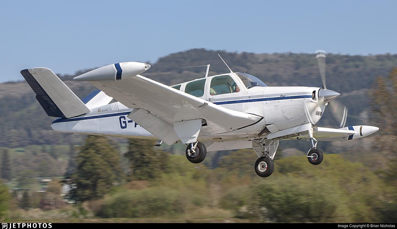 G-ASJL - Beechcraft H35 Bonanza - Private