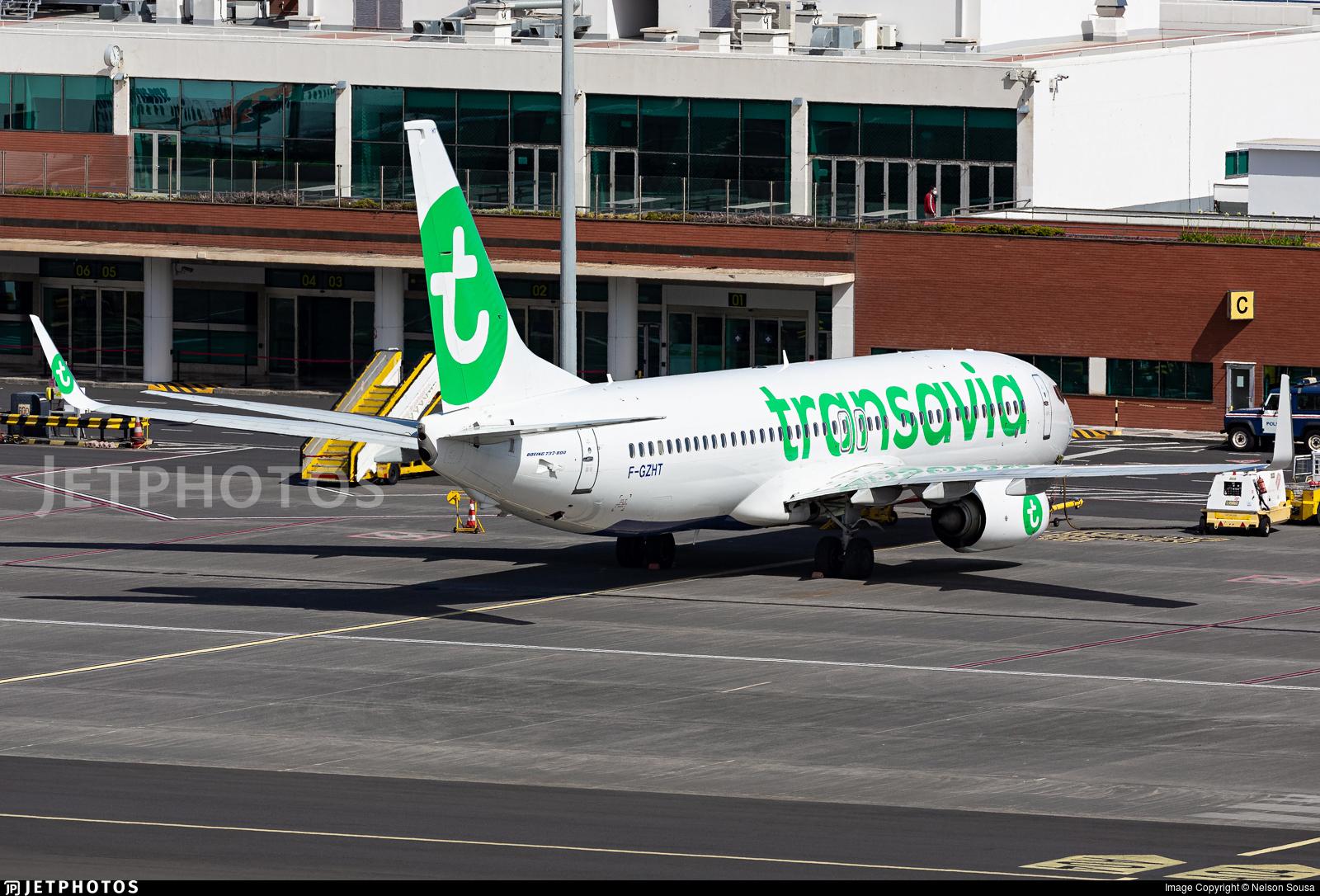 F-GZHT - Boeing 737-8K2 - Transavia France