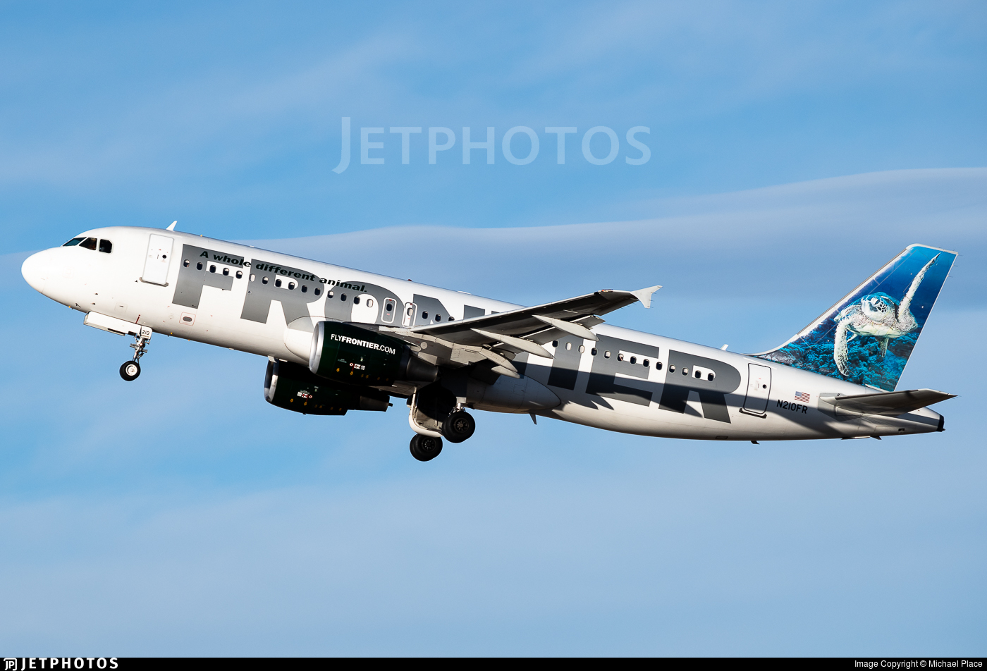 N210FR - Airbus A320-214 - Frontier Airlines
