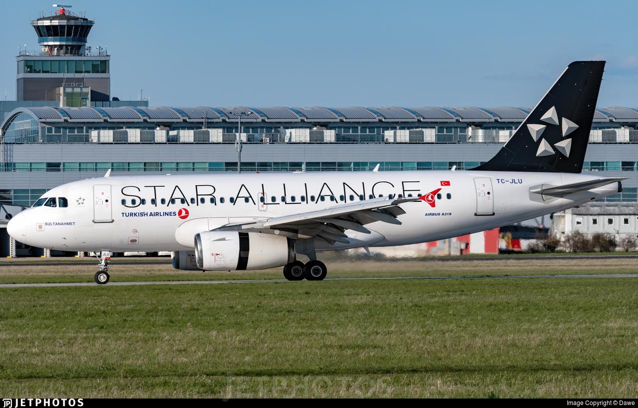 TC-JLU - Airbus A319-132 - Turkish Airlines