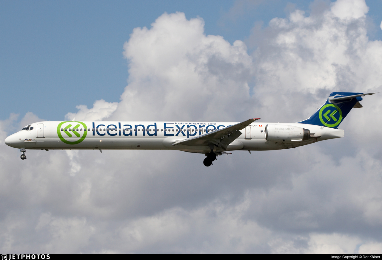 HB-JIF - McDonnell Douglas MD-90-30 - Iceland Express