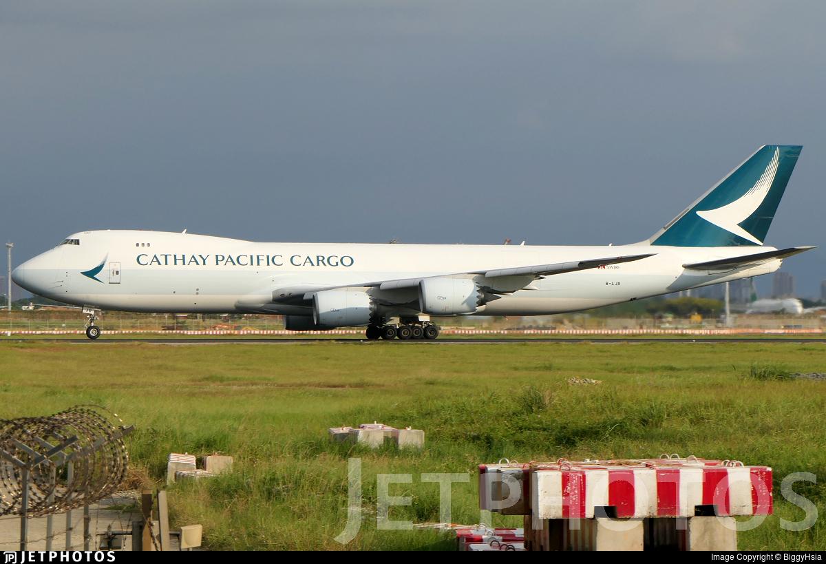 B-LJB - Boeing 747-867F - Cathay Pacific Cargo