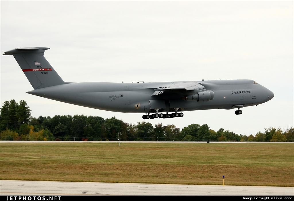 87-0038 - Lockheed C-5 Galaxy - United States - US Air Force (USAF)