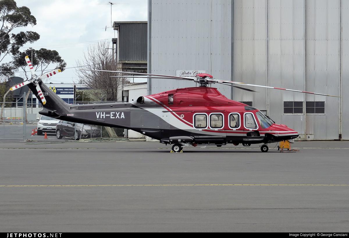 VH-EXA - Agusta-Westland AW-139 - Private