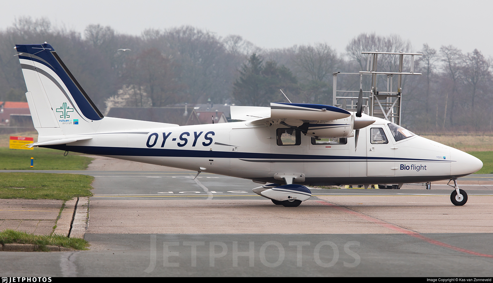 OY-SYS - Vulcanair P-68C - Bio flight