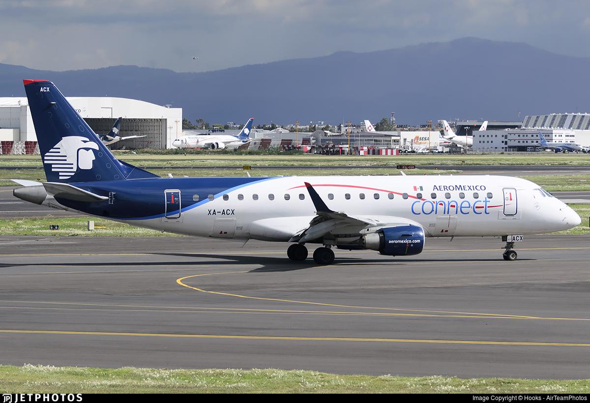 XA-ACX - Embraer 170-200LR - Aeroméxico Connect