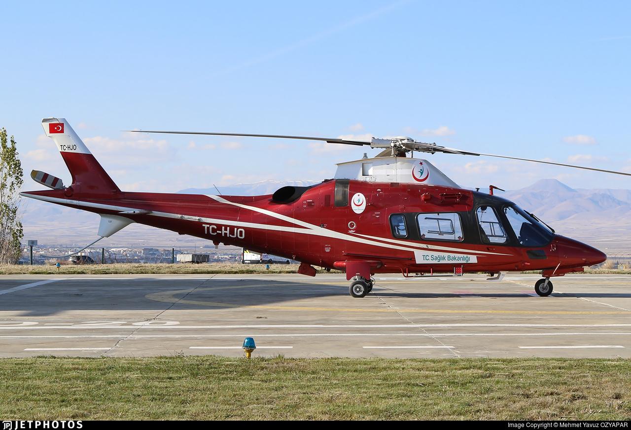 TC-HJO - Agusta-Westland AW-109E Power Elite - Turkey - Ministry of Health