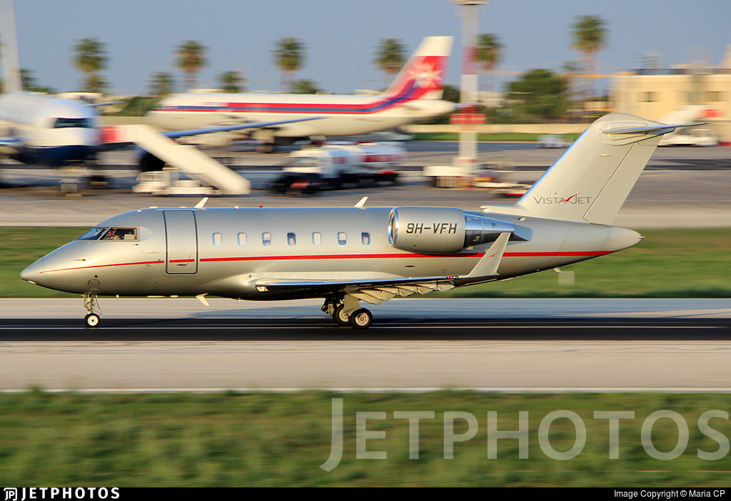9H-VFH - Bombardier CL-600-2B16 Challenger 605 - VistaJet