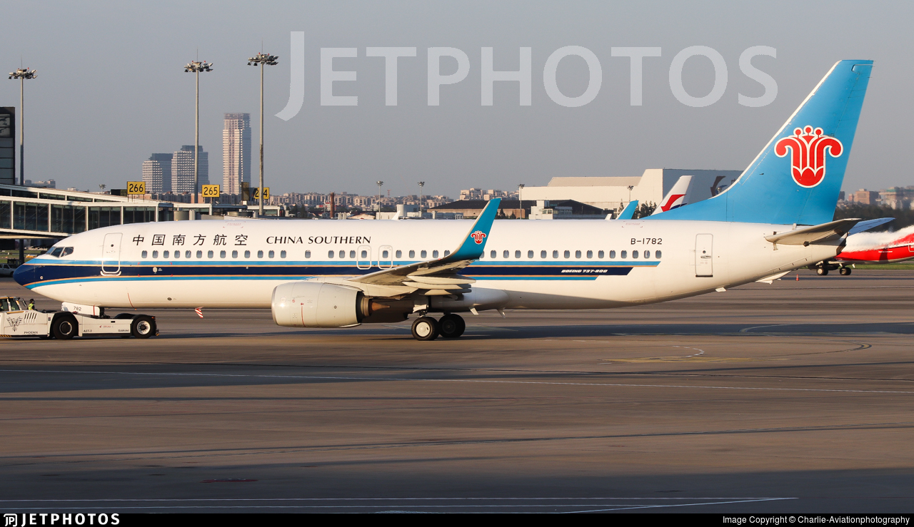 B-1782 - Boeing 737-81B - China Southern Airlines