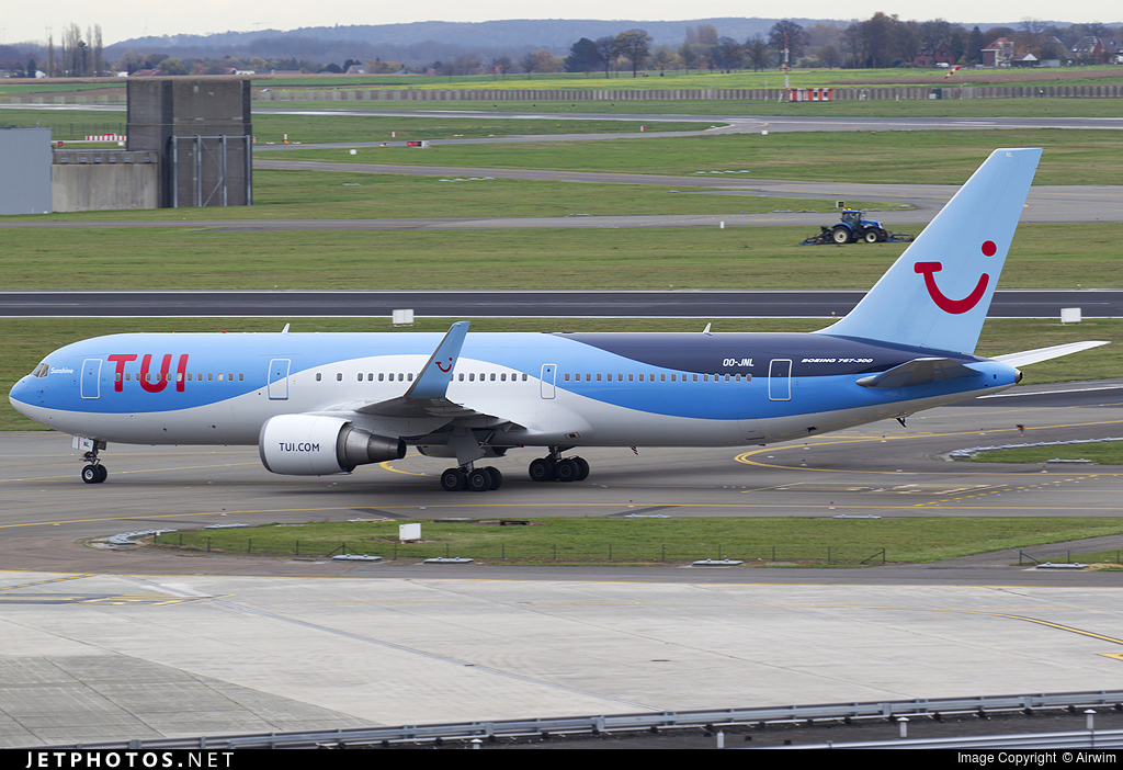 OO-JNL | Boeing 767-304(ER) | Jetairfly | Airwim | JetPhotos