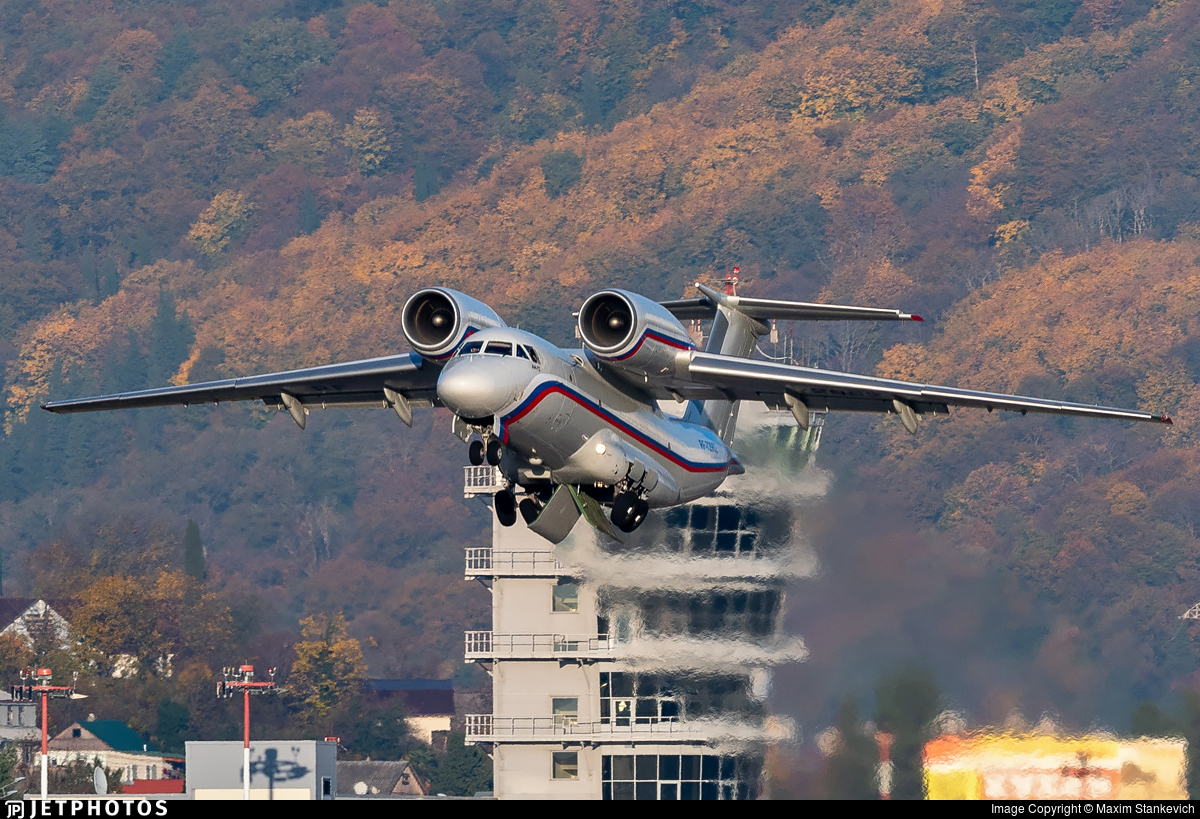 RF-72962 - Antonov An-72 - Russia - Air Force