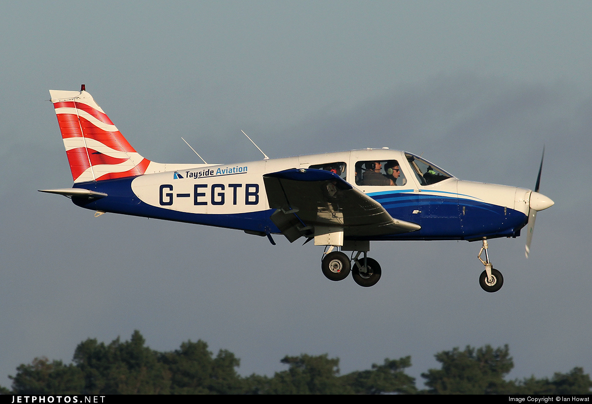 G-EGTB - Piper PA-28-161 Warrior II - Tayside Aviation
