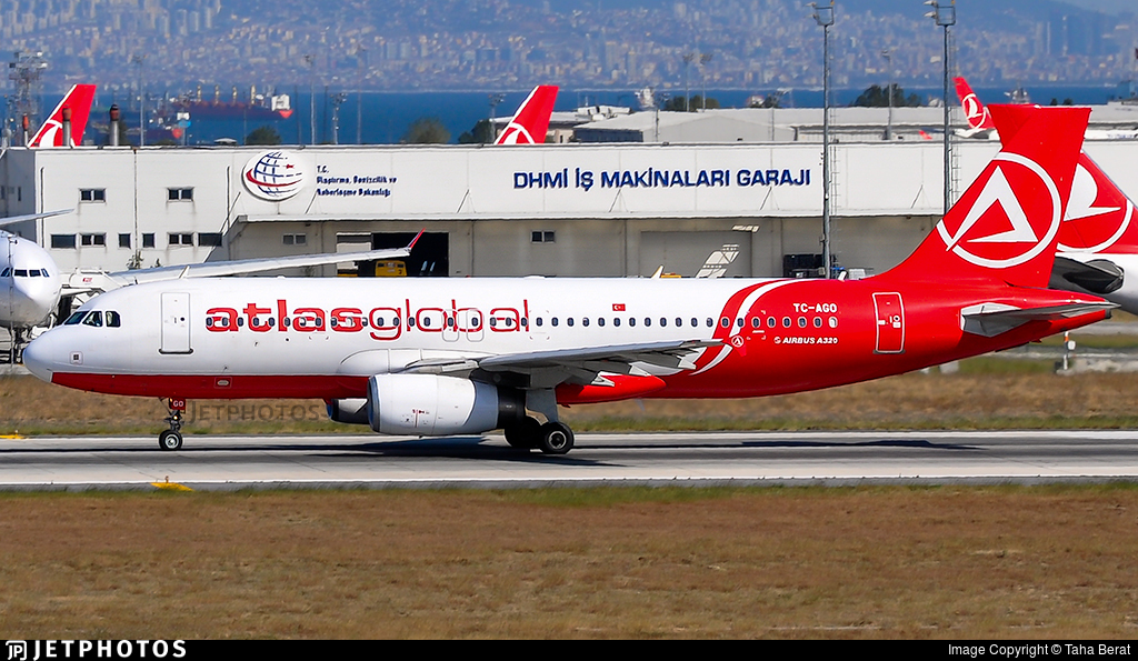 TC-AGO - Airbus A320-232 - AtlasGlobal