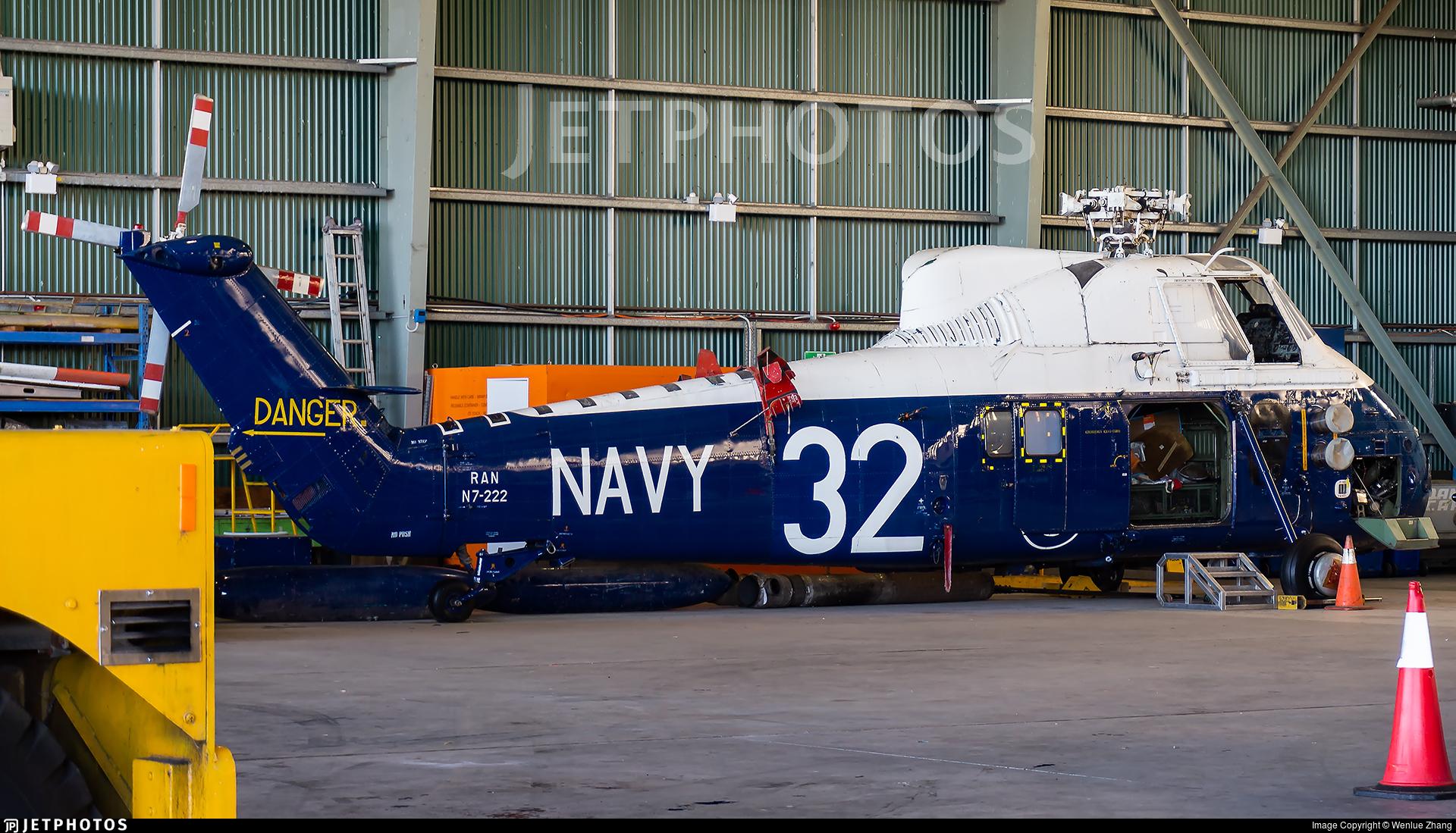 N7-222 - Westland Wessex HAS.31A - Australia - Royal Australian Navy (RAN)