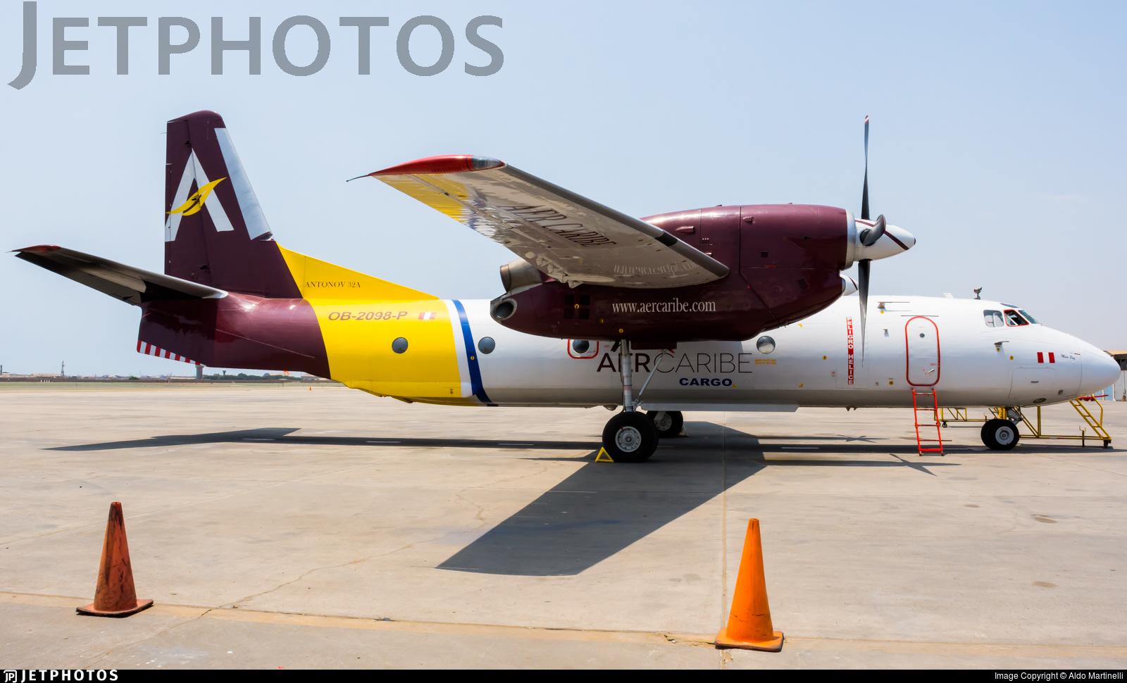 OB-2098-P - Antonov An-32 - Aer Caribe