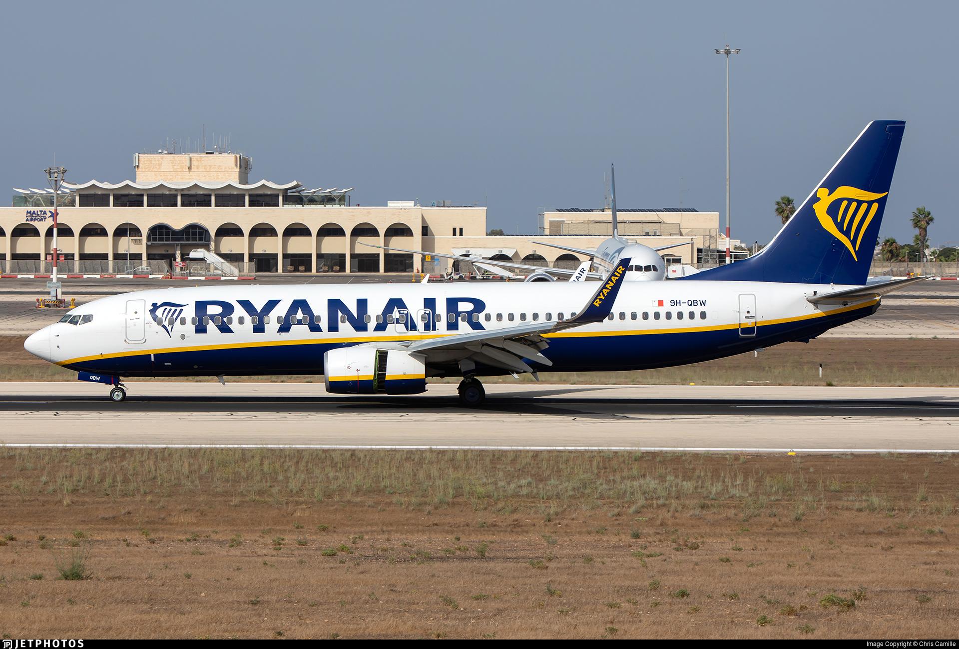 9H-QBW - Boeing 737-8AS - Ryanair (Malta Air)