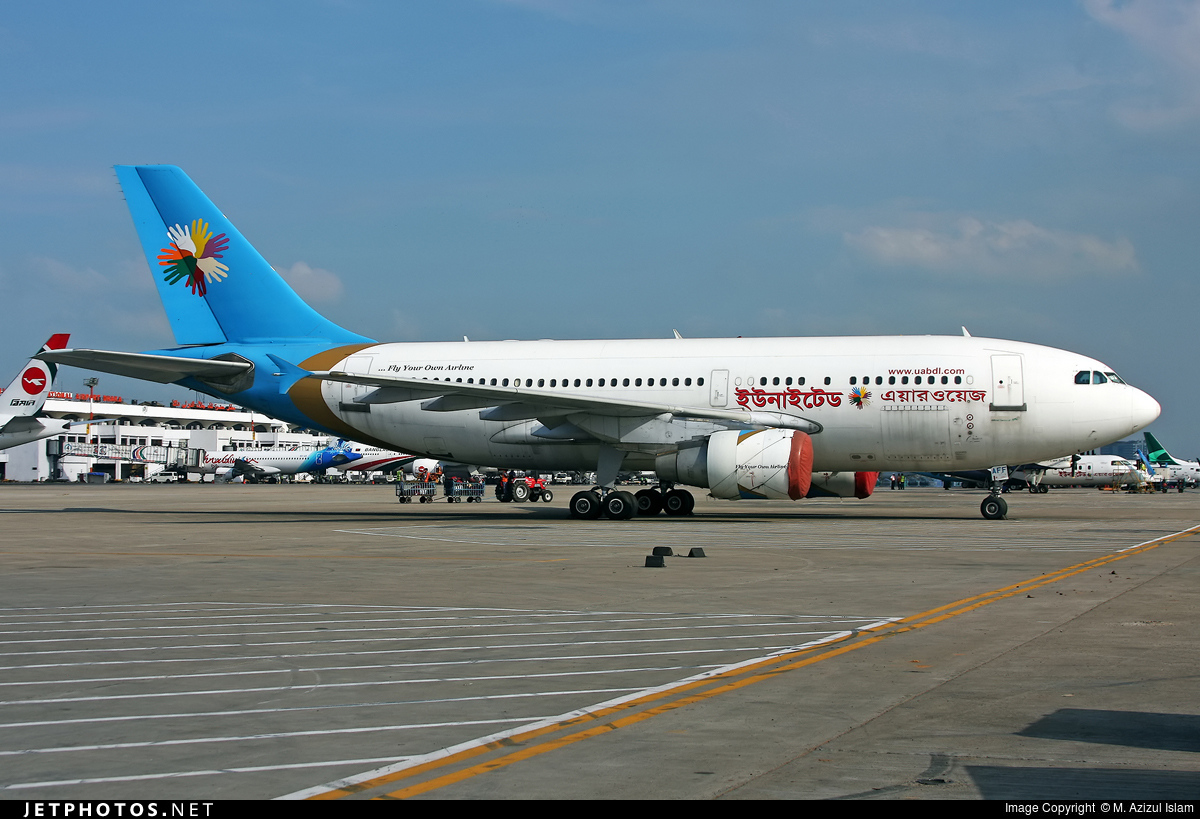 S2-AFF - Airbus A310-325 - United Airways