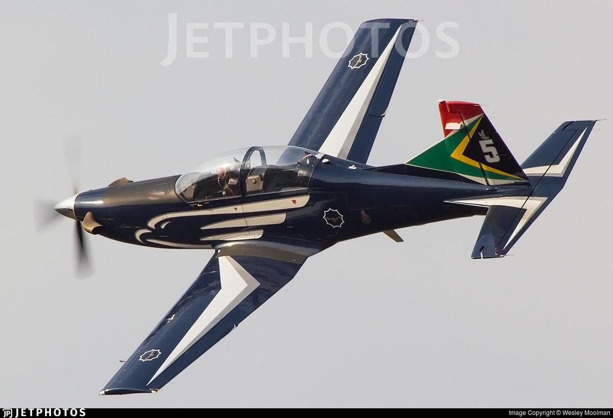 2027 - Pilatus PC-7 Mk.II - South Africa - Air Force