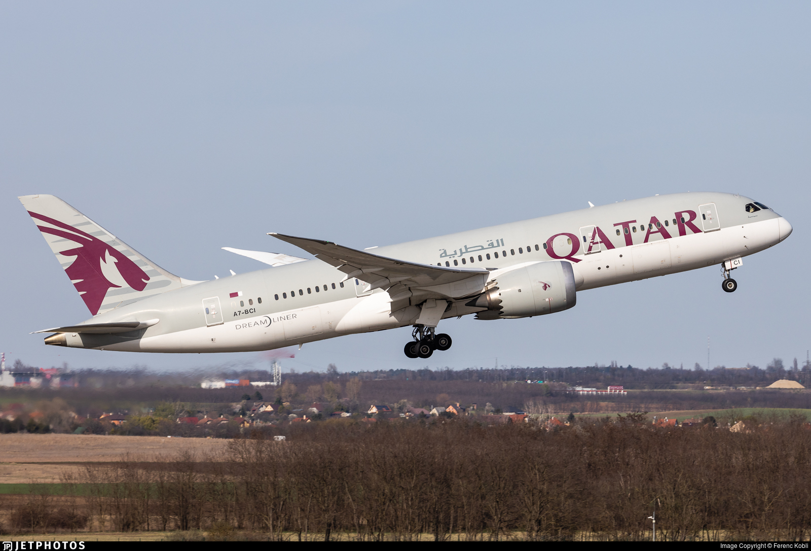 A7-BCI - Boeing 787-8 Dreamliner - Qatar Airways