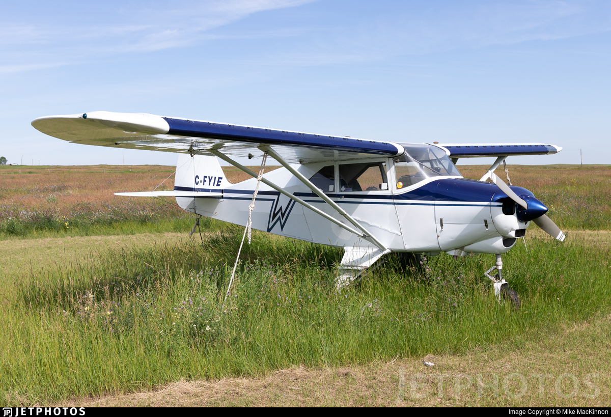 C-FYIE | Piper PA-22-160 Pacer | Private | Mike MacKinnon | JetPhotos