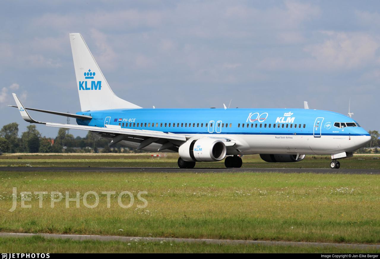 PH-BCE - Boeing 737-8K2 - KLM Royal Dutch Airlines