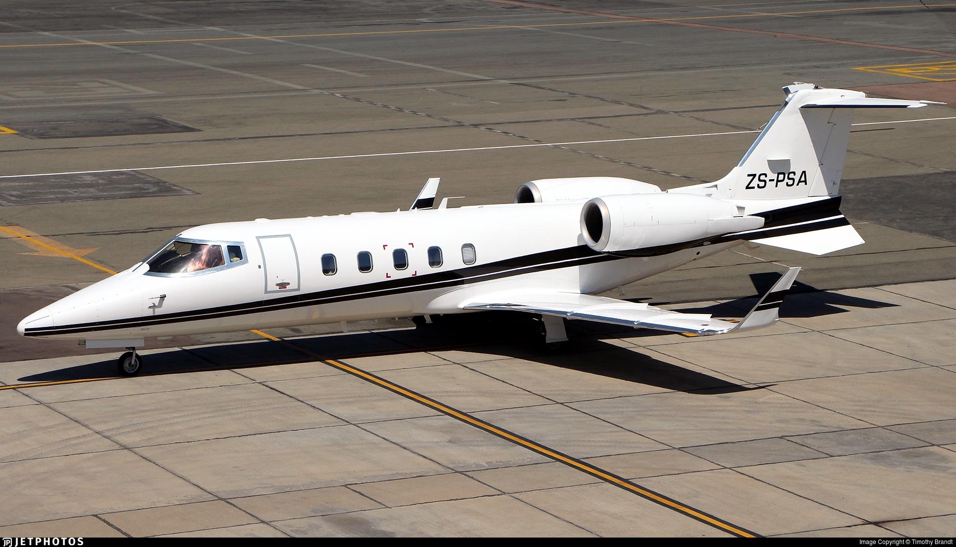 ZS-PSA - Bombardier Learjet 60 - Private