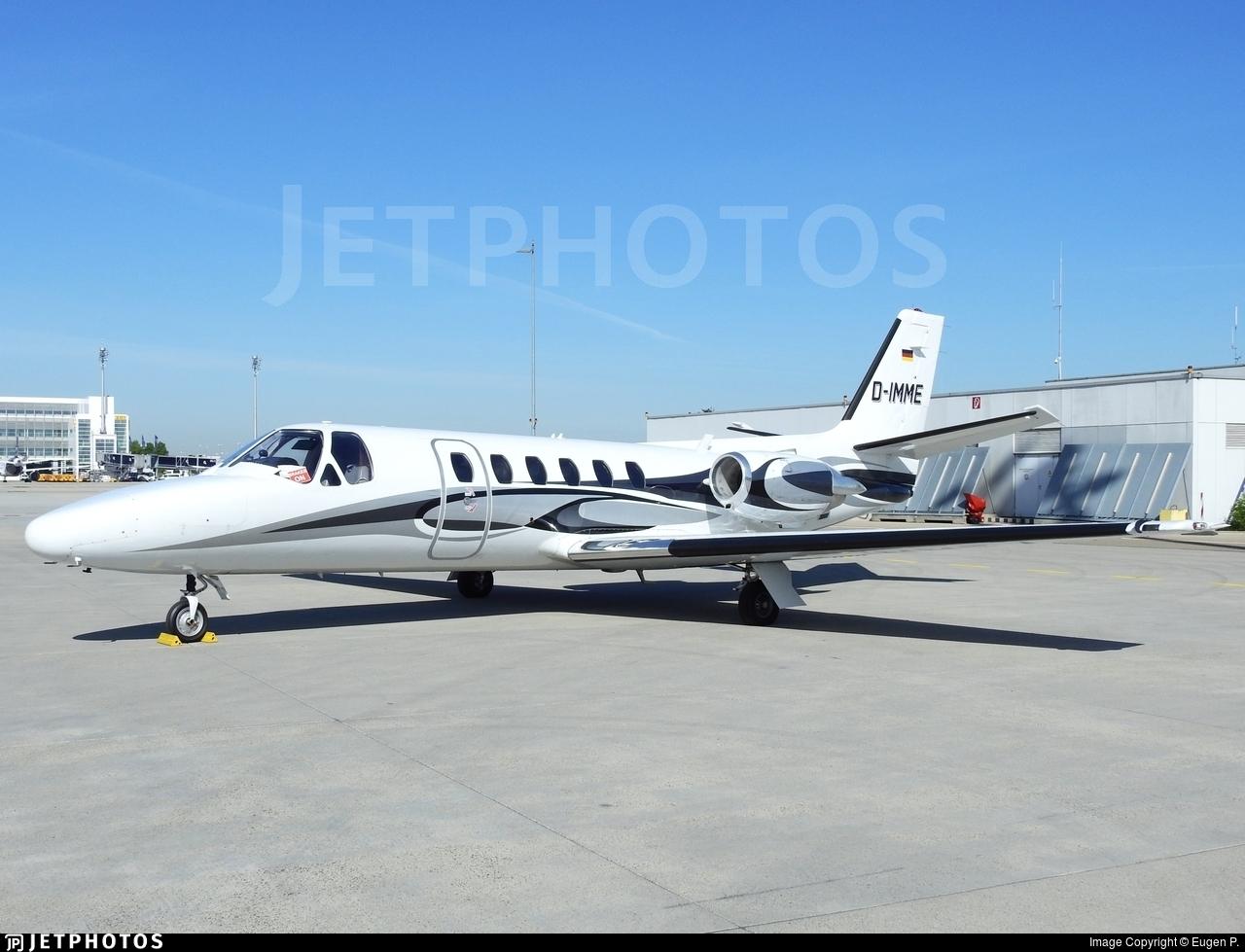 D-IMME - Cessna 551 Citation II(SP) - Private