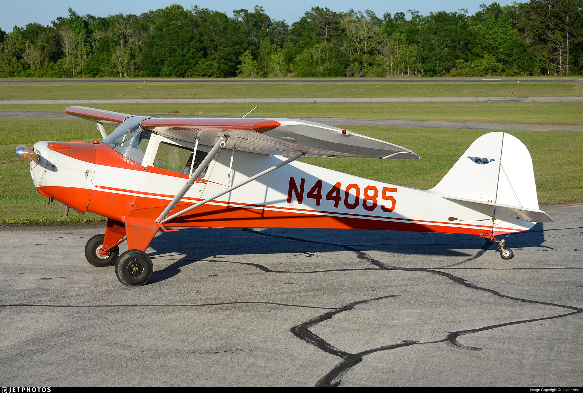 N44085 - Taylorcraft BC-12D - Private