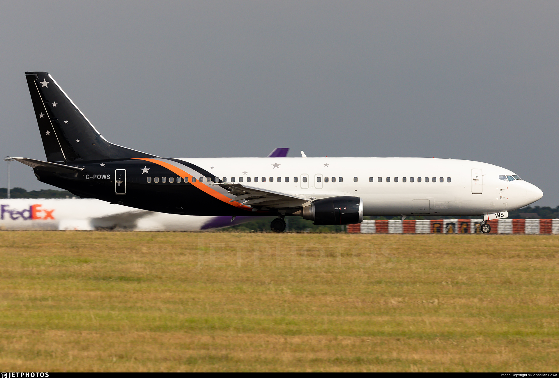 G-POWS - Boeing 737-436 - Titan Airways